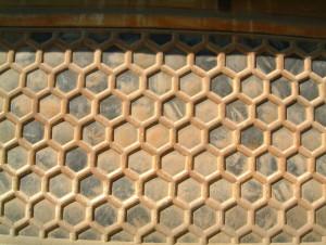 亀甲模様の海鼠壁